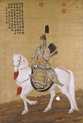 Giuseppe Castiglione (郎世宁, Lan Shining). An italian painter in China
