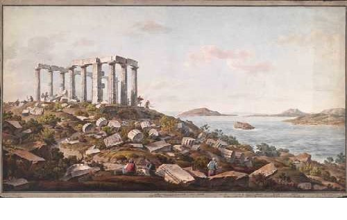 Dodwell and Pomardi's watercolors. A Grand Tour to Greece