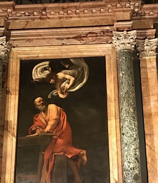 In Rome to see Caravaggio'pictures