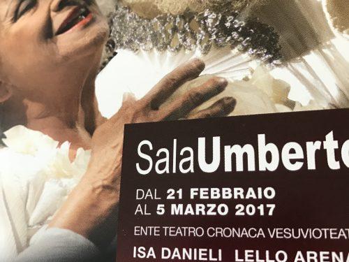 Un sogno con Isa Danieli e Lello Arena a Roma