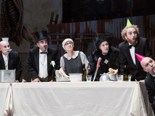 Puntila e il suo servo Matti di B. Brecht al Quirino di Roma
