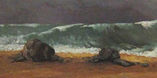 La vague di Courbet alla Galleria nazionale d'arte moderna e contemporanea di Roma