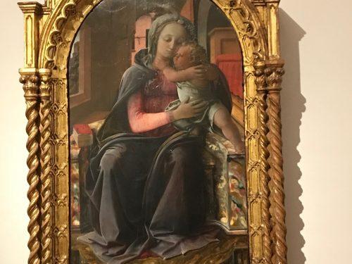 La Madonna di Tarquinia di Filippo Lippi