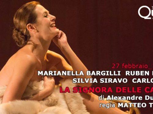 La Signora delle Camelie al Teatro Quirino. Roma