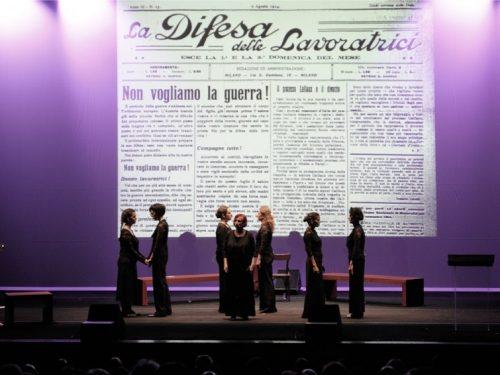 """""""IL FRONTE DELLE DONNE"""" al Teatro Vascello in Roma"""