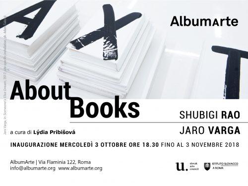 Art Books: mostra di Jaro Varga e Shubigi Rao a Roma