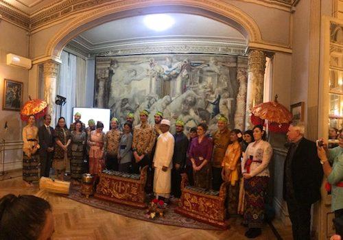 Rinata a Roma un'orchestra di musica Gamelan indonesiana