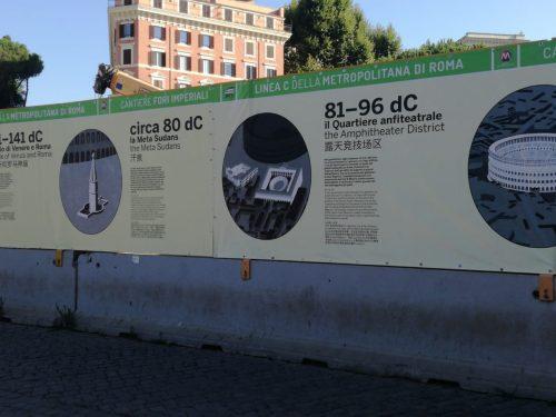 La piazza del Colosseo si racconta