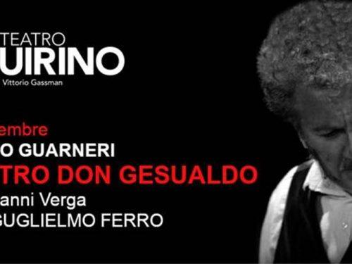 Il Mastro Don Gesualdo di Verga va in scena al Teatro Quirino in Roma