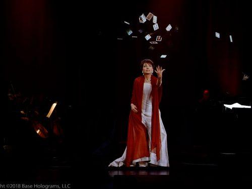 La tecnologia olografica riporta in scena la Callas