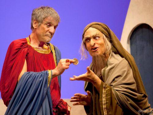 Al Teatro ARCOBALENO in Roma va in scena MOSTELLARIA di Plauto