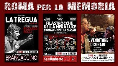 A Roma il teatro commemora la Shoah