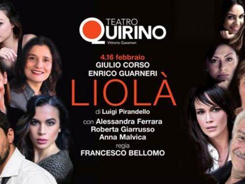 Liolà di Luigi Pirandello al Teatro Quirino in Roma