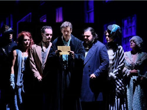 Alla Sala Umberto in Roma va in scena Sherlock Holmes