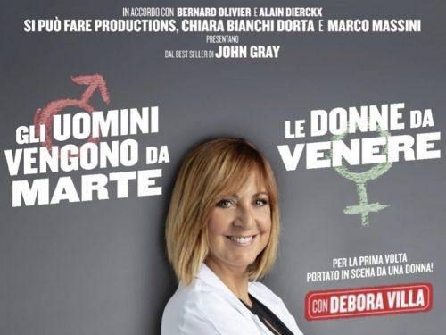 Gli uomini vengono da Marte e le donne da Venere, al Teatro Brancaccio in Roma