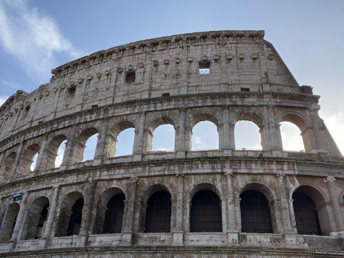 """Il documentario """"Il Colosseo in quarantena"""""""