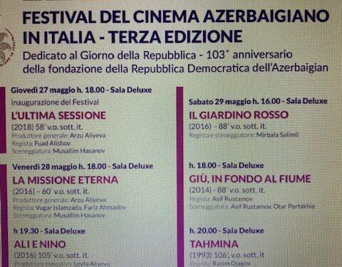 Terza edizione del Festival del Cinema Azerbaigiano a Roma