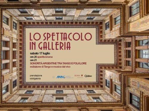 SONORITÀ ARGENTINE TRA TANGO E FOLKLORE in Galleria Sciarra a Roma