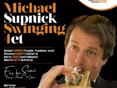 Michael Supnick Swinging Quartet featuring Vincenzo Barbato chiude la rassegna estiva al Museo del Saxofono