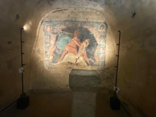 Inaugurato per la stampa il Mitreo di Marino (Roma)